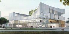 Déjà, sur le papier, l'ébauche du projet imaginé par le cabinet d'architectes nantais Tetrarc met en avant un style épuré mais imposant. Incontestablement, le futur Conservatoire à rayonnement régional de Rennes (CRR) doit « faire repère ».