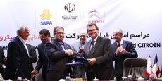 L'accord-cadre Citroën et SAIPA doit aboutir à un accord définitif avant la fin de l'année.