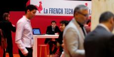 Le stand de la French Tech lors de l'événement Viva Technology à Paris, le 30 juin 2016.