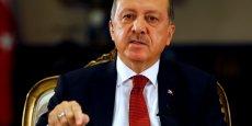 Le président turc Recep Tayyp Erdogan