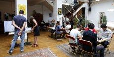 La présence des startups est plus diversifiée à Paris qu'à Londres.