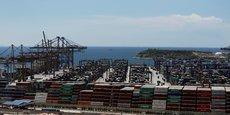 L'un des terminaux du port du Pirée en juillet 2016.