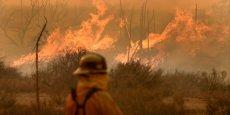 Lors de feux de forêts, les drones permettent d'obtenir des images d'endroits rendus inaccessibles à cause de la chaleur de l'incendie.