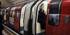 Le métro de Londres devrait transporter 180.000 passagers entre minuit et demi et 6 heures du matin.