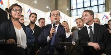 François Asselin (à droite), souligne que la France est l'un des pays européens avec le taux d'IS le plus élevé, à 33,33%, là où il est de 12,5 % en Irlande et de 15% dans d'autres pays.