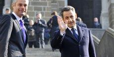 Nicolas Sarkozy tire sa révérence et laisse sa place à Laurent Wauquiez.