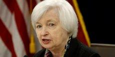 Janet Yellen, présidente de la Réserve fédérale américaine.