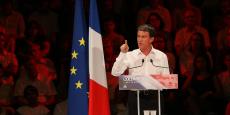 Manuel Valls lundi soir à Colomiers.