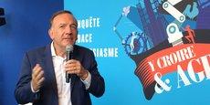 Pierre Gattaz veut galvaniser les troupes et replacer l'entreprise au cœur des programmes des candidats à la présidentielle.
