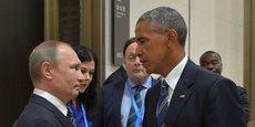Vladimir Poutine et Barack Obama à Hangzhou (en Chine) lundi 5 septembre.