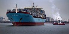 Rotterdam demeure le premier port de fret en Europe avec plus de 421 millions de tonnes de marchandises qui ont transité par cette ville en 2014.
