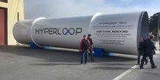 Quelques mois après le test du premier prototype dans le désert du Nevada, le gouvernement anglais pourrait accueillir le projet Hyperloop.