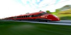 Le Pendolino est l'un des trains à grande vitesse de la gamme Avelia d'Alstom.