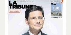 Nicolas Dufourcq, DG de bpifrance, fait la une du numéro en kiosque le 8 septembre
