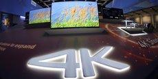 Les ventes de téléviseurs 4K n'ont pas décollé en France en 2015 avec seulement 570.000 unités vendues.