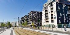 Les travaux de construction se poursuivent encore dans l'écoquartier Ginko (Bordeaux-Lac - notre photo) alors que sa livraison a démarré en 2012.