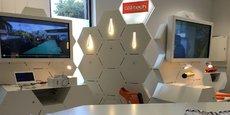 Au cœur de la Cité de la photonique, à Pessac, près de Bordeaux, dans le showroom de CEA Tech