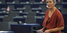 Margrethe Vestager, la commissaire à la concurrence, a martelé que les banques doivent respecter les règles de concurrence de l'UE [...] au même titre que n'importe quelle autre entreprise