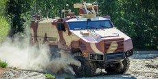 Le célèbre VAB de Renault Trucks Defense de l'armée de Terre va être remplacé par le Titus de Nexter (photo).