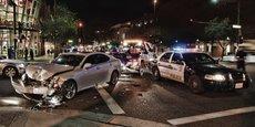 En 2015, 94 % des accidents de la circulation étaient dus à des erreurs humaines aux Etats-Unis.