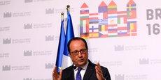 « Que chacun sache bien que si les États-Unis font un choix de s'éloigner, l'Europe doit être capable de se défendre par elle-même », a martelé François Hollande au sommet de Bratislava, le 16 septembre 2016.