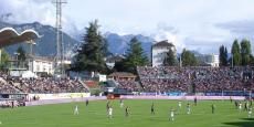 Le Parc des Sports d'Annecy, où évoluait l'ETG lors de ses années professionnelles, était souvent plein.
