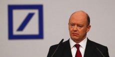 Dans le pire des cas, l'Etat fédéral pourrait entrer directement au capital de Deutsche Bank à hauteur de 25%. (Photo: John Cryan, patron de Deutsche Bank).