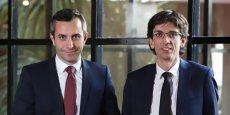 Romain Grandjean et Philippe Perdrix, dirigeants de l'agence 35° Nord.