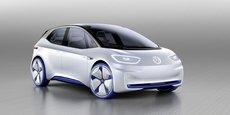 La Volkswagen I.D. préfigure la gamme de voitures électriques que le groupe allemand veut lancer à partir de 2020.