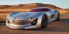TreZor doit préfigurer le style de la prochaine génération de Renault dont le premier modèle arrivera dans deux ans.