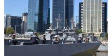 L'Adroit dans le port de Buenos Aires en février 2016
