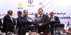 Citroën s'est associé à Saipa pour son retour en Iran.