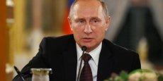La Russie de Vladimir Poutine fait l'objet de sanctions internationales depuis son annexion de la Crimée en 2014