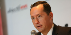 Patrick de Castelbajac retrouve le top management d'Airbus.