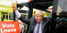 Le ministre des Affaires étrangères Boris Johnson fait partie du comité de 12 ministres chargés de négocier la sortie du Royaume-Uni de l'UE.