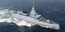 Le programme Belh@rra permettra à la marine française de disposer à l'horizon 2030 de quinze frégates de premier rang