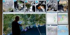 Le Sémaphore, vigie internationale de Predict Services, surveillant les phénomènes météorologiques de toute la planète.