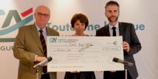 J. Boyer (CAL), V. Flachaire (CAL) et S.Marcel (Créalia) renouvellent leur partenariat pour trois ans