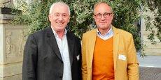 Gilles Roche, président de Melies, et Alain Delecroix, président de Capitole Angels