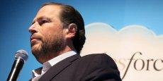 Le patron de Salesforce Marc Benioff enchaîne les échecs actuellement dans ses projets d'acquisition.