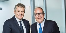 Thierry Blandinières, Dg et Philippe Mangin, Président d'InVivo
