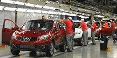 L'usine Nissan de Sunderland, dans le nord de l'Angleterre, la plus importante du pays, fabrique quelque 500.000 véhicules par an et emploie 7.000 ouvriers, techniciens et ingénieurs, sans oublier 28.000 emplois côté fournisseurs et sous-traitants.