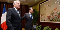 En pleine polémique sur la frénésie d'investissements chinois en Europe, Jean-Marc Ayrault a rencontré lundi à Pékin son homologue chinois des Affaires étrangères, après avoir clairement critiqué l'attitude protectionniste de la Chine lors d'une rencontre la veille avec des startupeurs français implantés en Chine.