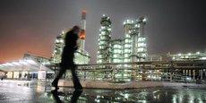 La raffinerie de  Novokuibyshevsk, près de la ville de Samara dans le sud-ouest de la Russie.