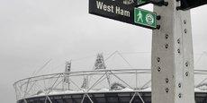 Le stade olympique est depuis cette saison l'antre de West Ham United, club de l'est de Londres qui avolue en Premier League.
