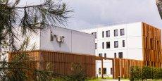 Le tout nouveau bâtiment où ont emménagé les équipes de l'IHU Liryc, dans le domaine de l'hôpital Xavier Arnozan.