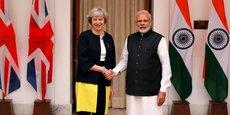 Pour préparer l'après-Brexit, Theresa May a rendu visite à Narendra Modi en vue de renforcer les relations commerciales entre le Royaume-Uni et l'Inde.