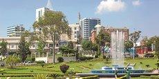 Kigali, capitale du Rwanda.