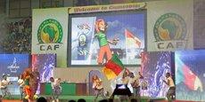 Le Palais des Sports de Yaoundé se met en scène pour l'ouverture de la CAN.