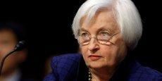Janet Yellen, présidente de la Fed. La banque centrale américaine devrait relever ses taux en décembre, puis deux fois en 2017. Depuis décembre 2015, ils sont à 0,5%